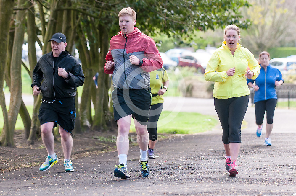 Images from the Springburn parkrun, 16 May 2015 at Springburn Park, Glasgow. Photo: Paul J Roberts / RobertsSports Photo. All Rights Reserved