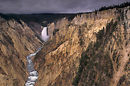 Lower Yellowstone Falls, Grand Canyon of the Yellowstone River, Yellowstone National Park, WYOMING