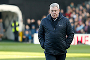 Aston Villa manager / coach Steve Bruce during the EFL Sky Bet Championship match between Fulham and Aston Villa at Craven Cottage, London, England on 17 February 2018. Picture by Andy Walter.