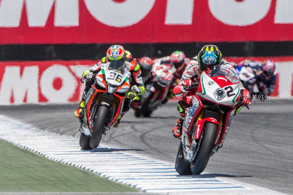 2017 World Superbike Championship, Round 8, Laguna Seca, USA, 9 July 2017