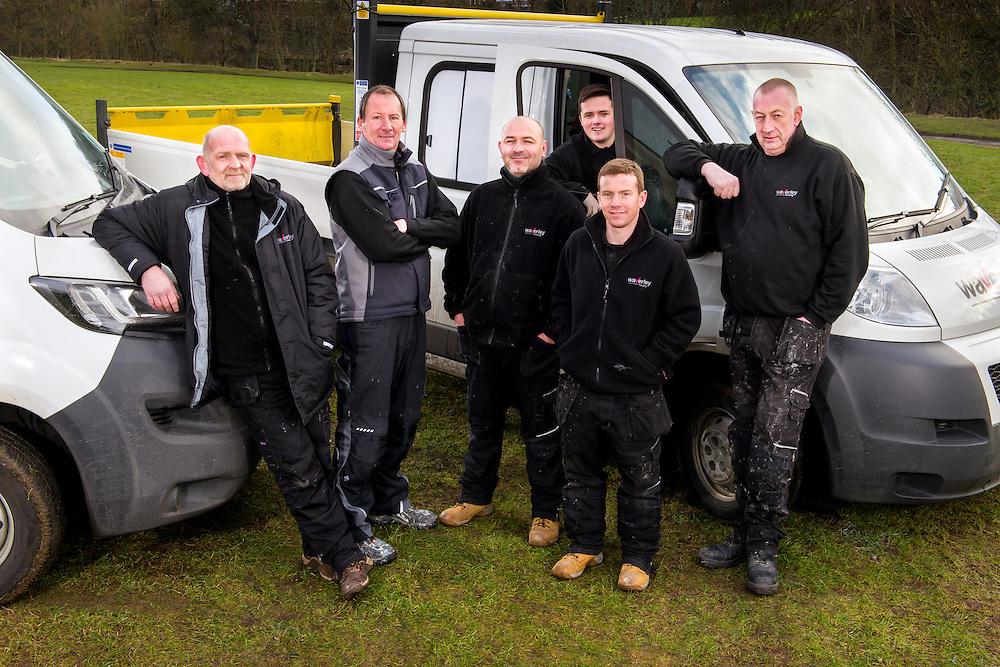Staff and team portrtiats at Waverley Housing Assosciation, Hawick.