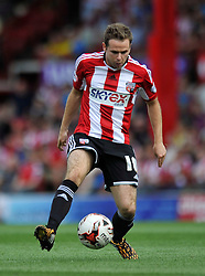 Brentford's Alan Judge - Photo mandatory by-line: Patrick Khachfe/JMP - Mobile: 07966 386802 09/08/2014 - SPORT - FOOTBALL - Brentford - Griffin Park - Brentford v Charlton Athletic - Sky Bet Championship - First game of the season