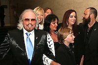 Barry Gibb and family, The Silver Clef Lunch 2013 in aid of  Nordoff Robbins held at the London Hilton, Park Lane, London.<br /> Friday, June 28, 2013 (Photo/John Marshall JME)