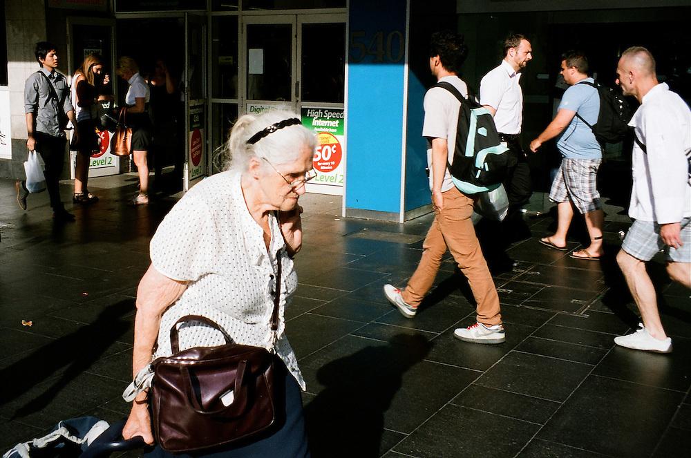 White woman, Sydney