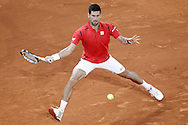 Novak Djokovic during the Madrid Open at Manzanares Park Tennis Centre, Madrid<br /> Picture by EXPA Pictures/Focus Images Ltd 07814482222<br /> 07/05/2016<br /> ***UK &amp; IRELAND ONLY***<br /> EXPA-ESP-160507-0006.jpg