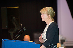 Pictured: <br /> <br /> Health Secretary Shona Robison announced additional &pound;9.5m funding for health boards to help reduce A&amp;E waiting times during a visit to the Edinburgh Corn Exchange<br /> Ger Harley | EEm 18 May 2017