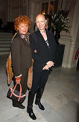 RICHARD O'BRIEN and actress PATRICIA QUINN at a party following the world premier of the musican Sinatra at The London Palladium, held at The Palm Court, Waldorf Hotel, Aldwych, London WC2 on 8th March 2006.<br /><br />NON EXCLUSIVE - WORLD RIGHTS