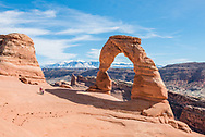 Delicate Arch, in Arches National Park.