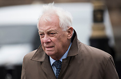 © Licensed to London News Pictures. 31/01/2018. London, UK. Lord Chris Patten, former Chairman of the BBC Trust seen arriving at the House of Lords in Westminster. .Photo credit: Ben Cawthra/LNP