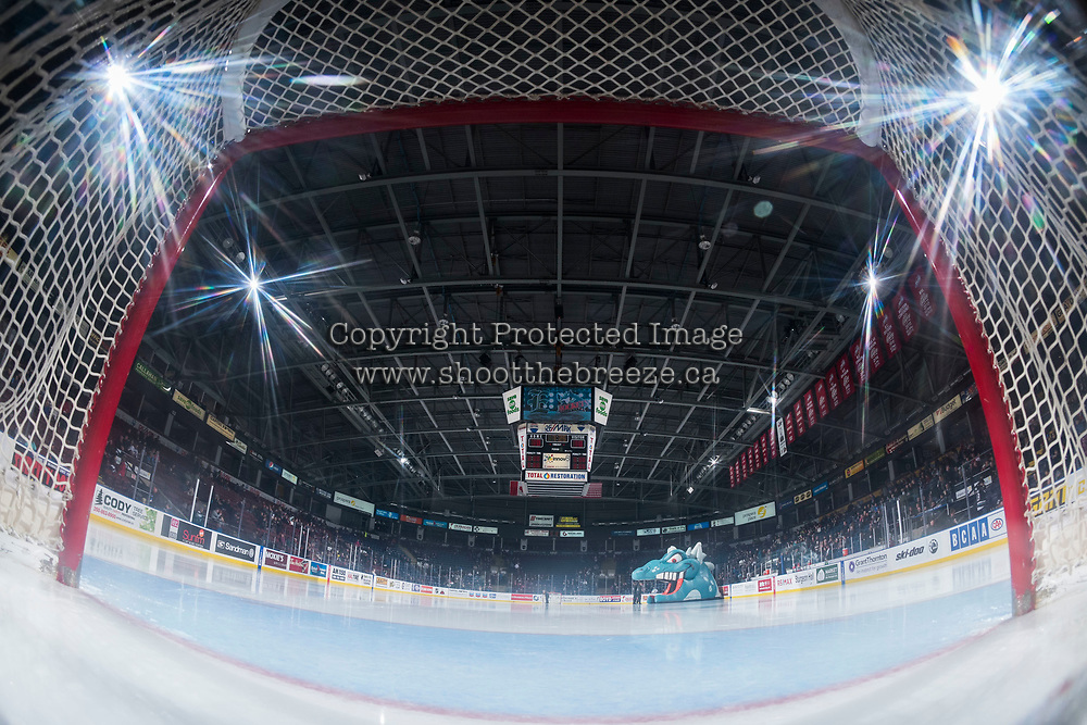 KELOWNA, CANADA - FEBRUARY 2: The Kelowna Rockets ice  on FEBRUARY 2, 2018 at Prospera Place in Kelowna, British Columbia, Canada.  (Photo by Marissa Baecker/Shoot the Breeze)  *** Local Caption ***