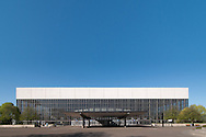 2009/04/21 -- Memorial Coliseum -- Exterior images. Architect: Skidmore, Owings & Merrill (1960). Photo by Homestead Images.