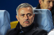 Picture by Daniel Chesterton/Focus Images Ltd +44 7966 018899<br /> 18/09/2013<br /> Chelsea manager Jos&eacute; Mourinho during the UEFA Champions League match at Stamford Bridge, London.