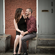 Brian & Sara - New Orleans Wedding Engagement Photo Session - French Quarter Jackson Square 2013 | 1216 STUDIO wedding photography