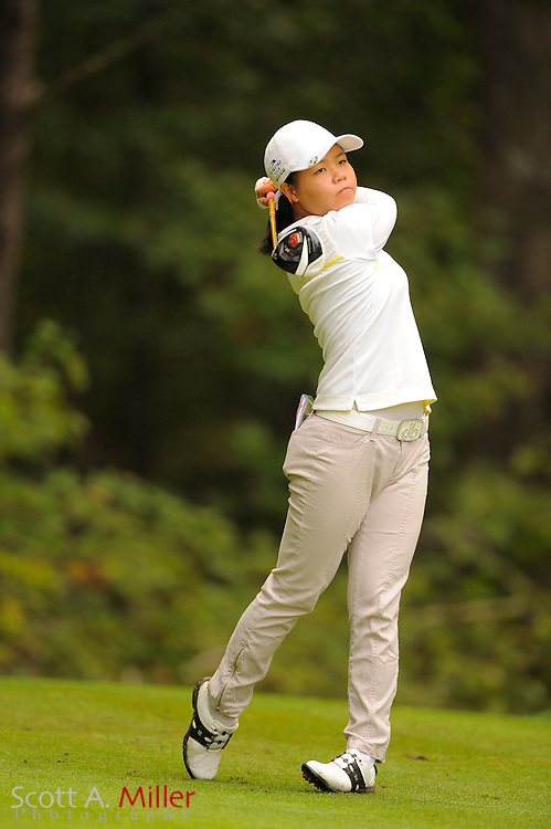 Sue Kim during the Symetra Tour's Eagle Classic at the Richmond Country Club on August 18, 2012 in Richmond, Va...©2012 Scott A. Miller