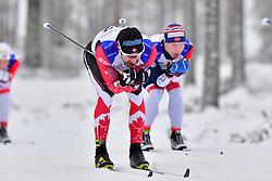 MCKEEVER Brian Guide: NISHIKAWA G, CAN, B3 at the 2018 ParaNordic World Cup Vuokatti in Finland