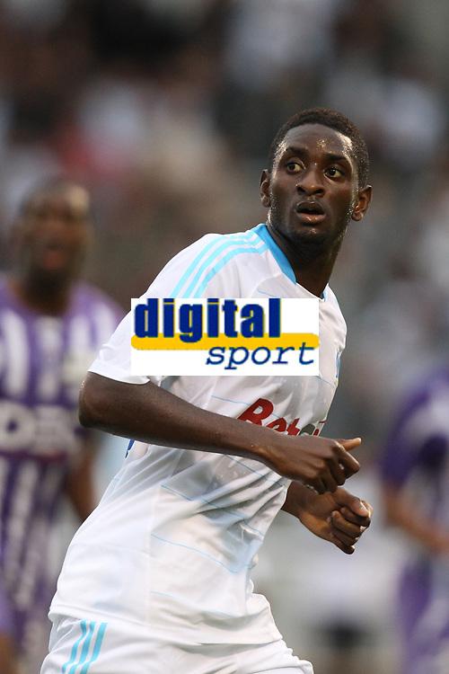 FOOTBALL - FRIENDLY GAMES 2010/2011 - OLYMPIQUE MARSEILLE v TOULOUSE FC - 21/07/2010 - PHOTO ERIC BRETAGNON / DPPI - MAMADOU SAMASSA (OM)