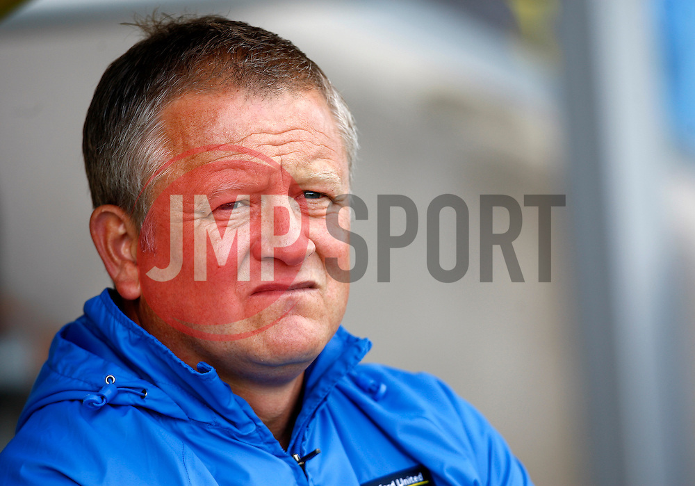Oxford United Manager, Chris Wilder  - Photo mandatory by-line: Matt Bunn/JMP - Tel: Mobile: 07966 386802 07/09/2013 - SPORT - FOOTBALL -  Pirelli Stadium - Burton upon Trent - Burton Albion V Oxford United - Sky Bet League Two