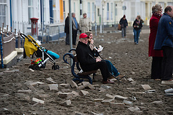© London News Pictures. 07/01/2014. Aberystwyth, UK.<br />