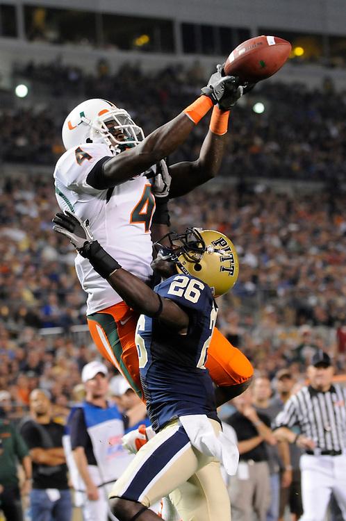 2010 Miami Hurricanes Football @ Pittsburgh