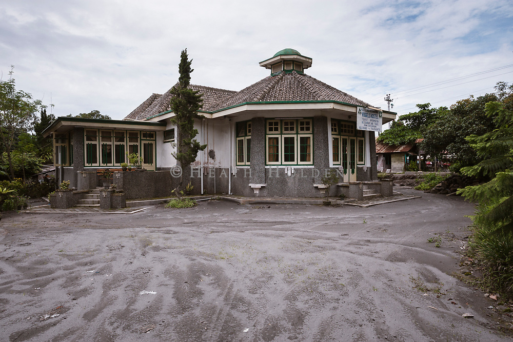 Vogels hostel is a popular place to stay for visitors to Mt Merapi.