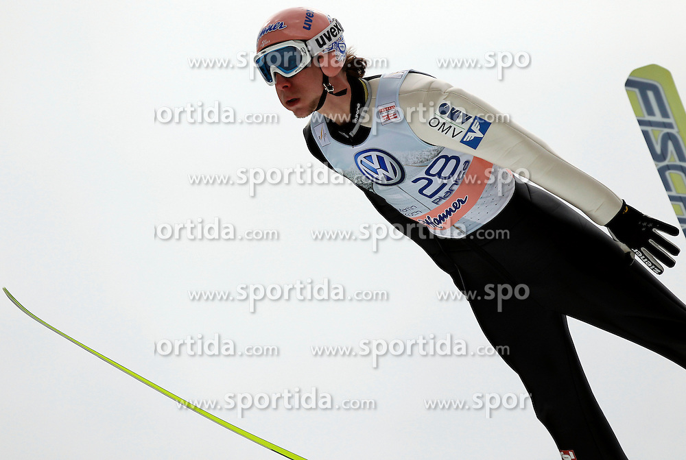 18.03.2012, Planica, Kranjska Gora, SLO, FIS Ski Sprung Weltcup, Einzel Skifliegen, im Bild Martin Koch (AUT),  during the FIS Skijumping Worldcup Individual Flying Hill, at Planica, Kranjska Gora, Slovenia on 2012/03/18. EXPA © 2012, PhotoCredit: EXPA/ Oskar Hoeher.