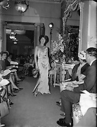 06/07/1961<br /> 07/06/1961<br /> 06 July 1961<br /> Fashion Show: Irene Gilbert Autumn/Winter Collection.
