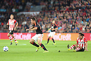 Ander Herrera of Manchester United on the ball during the Champions League Group B match between PSV Eindhoven and Manchester United at Philips Stadion, Eindhoven, Netherlands on 15 September 2015. Photo by Phil Duncan.