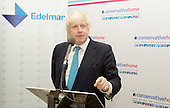 ConHome Boris Johnson drinks reception 6th October 2015