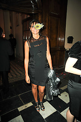 COUNTESS DEBONAIRE VON BISMARCK at 'Superficial Butterfly' a party hosted by Amanda Eliasch to celebrate her 50th birthday held at Number One Mayfair (St Marks Church) North Audley Street, London on 12th May 2010.