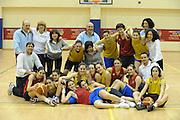 ROMA 27.03.2010<br /> PROGETTO COLLEGE ITALIA <br /> NELLA FOTO: LE ATLETE DEL TEAM COLLEGE ITALIA, I DIRIGENTI ED I TECNICI AL CENTRO SPORTIVO CONI GIULIO ONESTI ALL'ACQUA CETOSA DURANTE UNA SEDUTA DI ALLENAMENTO