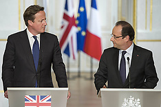 MAY 22 2013 David Cameron & Francois Hollande Press Conference