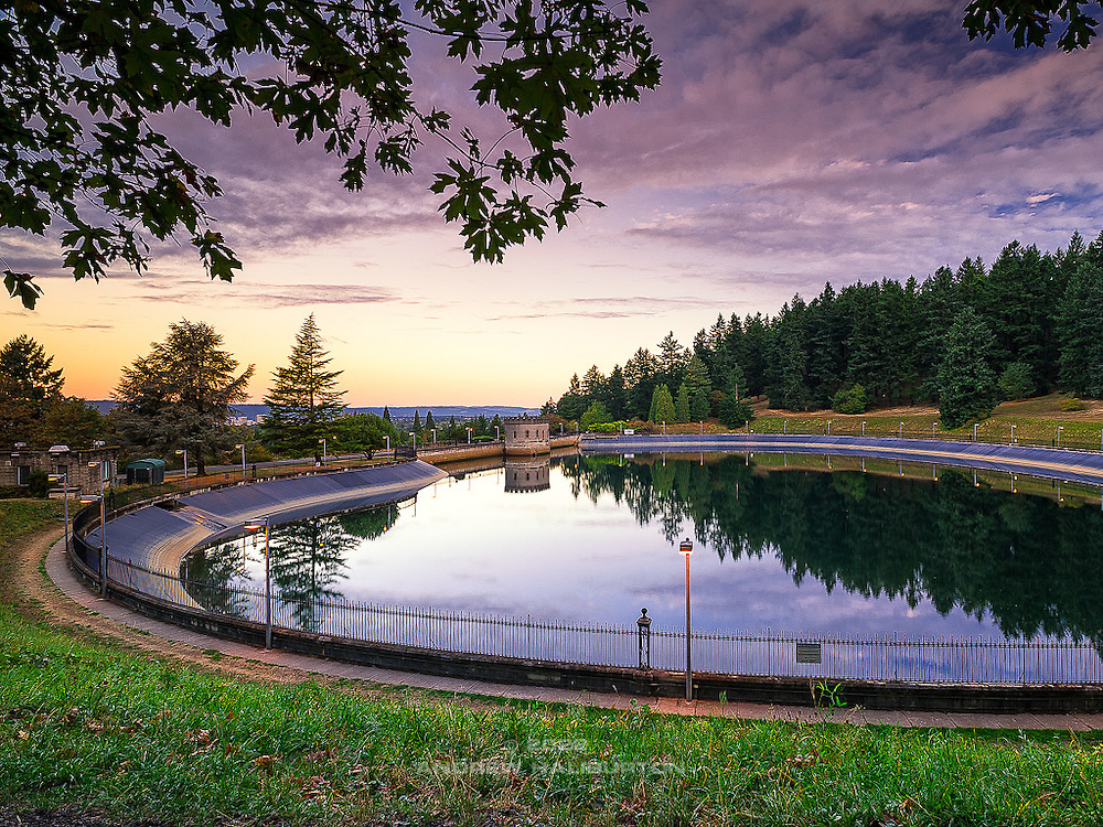 Reservoir 5 (1911) is one of three open reservoirs at Mount Tabor Park and of five total in Portland.  Mount Tabor's three open reservoirs and their ancillary structures were placed in the National Register of Historic Places on January 15, 2004.  The Environmental Protection Agency (EPA) regulation known as the Long Term 2 Enhanced Surface Water Treatment Rule (aka the LT2 Rule) imposes new requirements that open water reservoirs be covered, buried or additionally treated.  This applies to Portland's five open reservoirs and to the unfiltered Bull Run source supplying them.