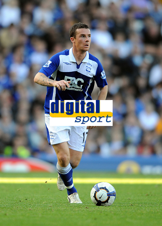 Fotball<br /> England<br /> Foto: Fotosports/Digitalsport<br /> NORWAY ONLY<br /> <br /> St Andrews Ground Birmingham City v Bolton Wanderers  (1-2) Premier League 26/09/2009<br /> Barry Ferguson  (Bimingham)