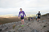 08/11/2014 repro free Irish Soccer international Kevin Kilbane on Croagh Patrick who took part in the Sea 2 Summit adventure race in Westport Co. Mayo. Photo:Andrew Downes