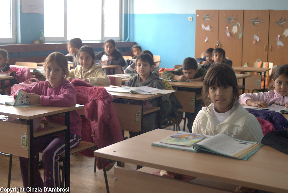 In Fakulteta Mahala, the largest Roma ghetto in Sofia, Bulgaria there is a school that has over 1.000 children. These are all Roma students hence the name of segregated school.