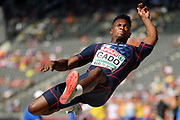 Ruben Gado competes in men decathlon (long jump) during the European Championships 2018, at Olympic Stadium in Berlin, Germany, Day 1, on August 7, 2018 - Photo Philippe Millereau / KMSP / ProSportsImages / DPPI