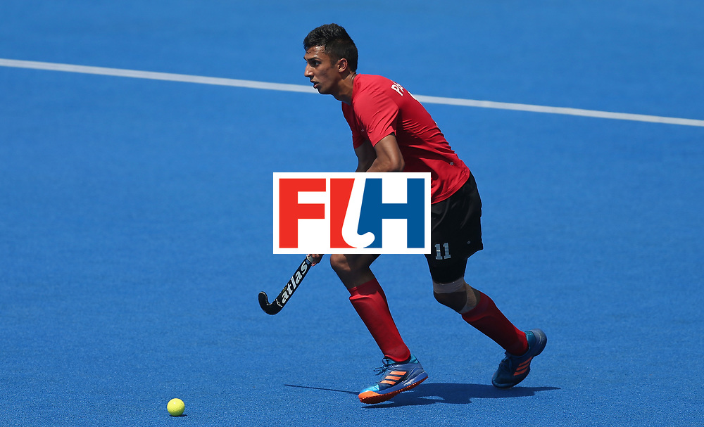 LONDON, ENGLAND - JUNE 20: Balraj Panesar of Canada during the Pool B match between Scotland and Canada on day six of the Hero Hockey World League Semi-Final at Lee Valley Hockey and Tennis Centre on June 20, 2017 in London, England.  (Photo by Alex Morton/Getty Images)