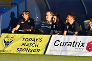 Leeds United manager Marcelo Bielsa in the dug out during the Pre-Season Friendly match between Oxford United and Leeds United at the Kassam Stadium, Oxford, England on 24 July 2018. Picture by Graham Hunt.