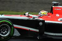 Jules Bianchi (FRA) Marussia F1 Team MR03.<br /> Japanese Grand Prix, Sunday 5th October 2014. Suzuka, Japan.