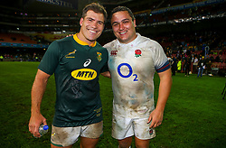 Schalk Brits of South Africa with Jamie George of England- Mandatory by-line: Steve Haag/JMP - 23/06/2018 - RUGBY - DHL Newlands Stadium - Cape Town, South Africa - South Africa v England 3rd Test Match, South Africa Tour