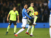 Brighton central midfielder, Beram Kayal (7) wins possession during the Sky Bet Championship match between Queens Park Rangers and Brighton and Hove Albion at the Loftus Road Stadium, London, England on 15 December 2015.