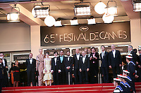 The Cast of the Film Moonrise Kingdom at the Opening Night at the 65th Cannes Film Festival. Wednesday 16th May 2012, the red carpet at Palais Des Festivals in Cannes, France.