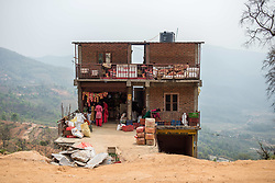 March 30, 2019 - Bandipur, Nepal - Roadside store in Bandipur, Nepal, on March 30, 2019. (Credit Image: © Oleksandr Rupeta/NurPhoto via ZUMA Press)