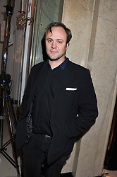 NICHOLAS KIRKWOOD at a dinner and dance hosted by Leon Max for the charity Too Many Women in support of Breakthrough Breast Cancer held at Claridges, Brook Street, London on 1st December 2011.