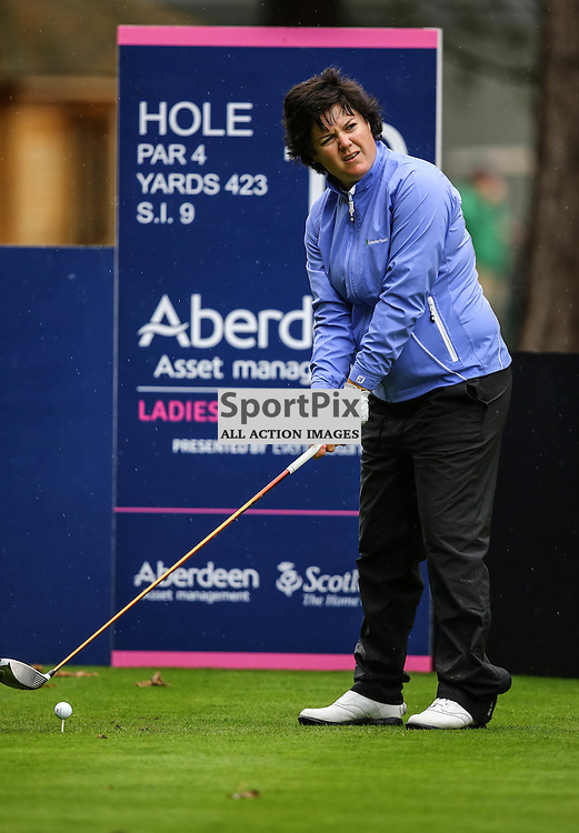 Becky Brewerton (Wales) prepares to tee off at the 10th. Aberdeen Asset Management Ladies Scottish Open (c) [Neil Bain] | SportPixPix.org.uk