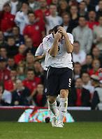 Photo: Andrew Unwin.<br />England v Macedonia. UEFA European Championships 2008 Qualifying. 07/10/2006.<br />England's Wayne Rooney.
