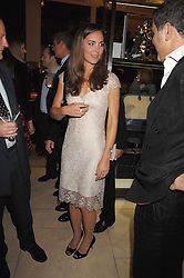 KATE MIDDLETON at a party to celebrate the publication of 'Young Stalin' by Simon Sebag-Montefiore at Asprey, New Bond Street, London on 14th May 2007.<br />