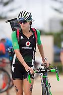 General Race Coverage, April 11, 2015 - TRIATHLON : ITU World Triathlon / Women Race, Southport, Gold Coast, Queensland, Australia. Credit: Lucas Wroe