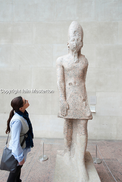 Egyptian display at Metropolitan Museum of Art in Manhattan , New York City, USA