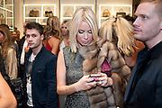 CAROLINE  HABIB,, Party to celebrate the launch of the new Cavalli Store. Roberto Cavalli. Sloane st. London. 17 September 2011. <br /> <br />  , -DO NOT ARCHIVE-© Copyright Photograph by Dafydd Jones. 248 Clapham Rd. London SW9 0PZ. Tel 0207 820 0771. www.dafjones.com.